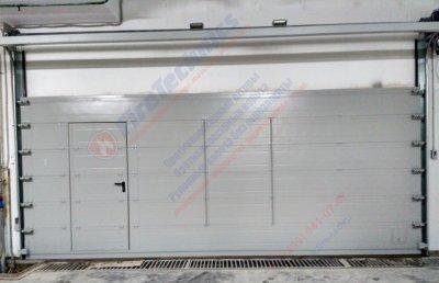Секционные противопожарные ворота FireTechnics-S EI60
