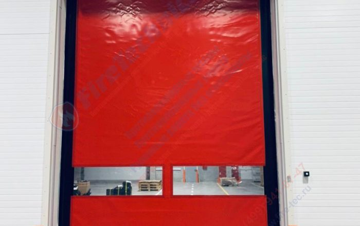 Комплексное решение: Противопожарные шторы и Скоростные Пленочные ворота.